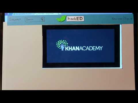 hackED: Taking Khan Academy by Storm!