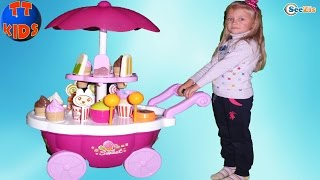 играем в магазин сладостей с ярославой sweet shop игры для детей распаковка kids games unboxing