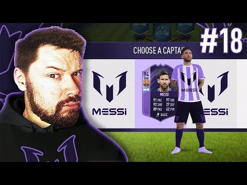 94 MESSI IS UNREAL! - #FIFA18 DRAFT TO GLORY #18