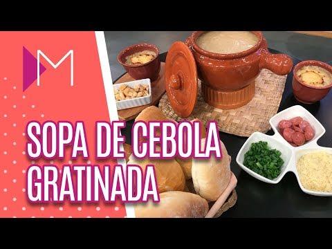 Sopa de cebola gratinada  - Mulheres (25/07/2018)