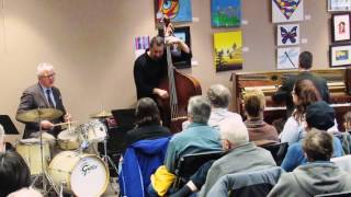 Noah Baerman Jazz Trio performs at Cheshire Library