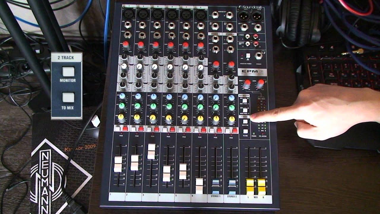 soundcraft epm6 схема ремонта