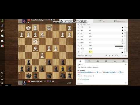 Blitz on Chess.com GM Daniel Naroditsky - FM Bryakin Mikhail