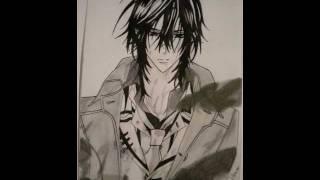 Drawing of Kaname Kuran (Vampire Knight)