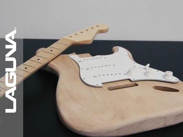 Making a Wooden Guitar on a Desktop CNC Router | Laguna Tools