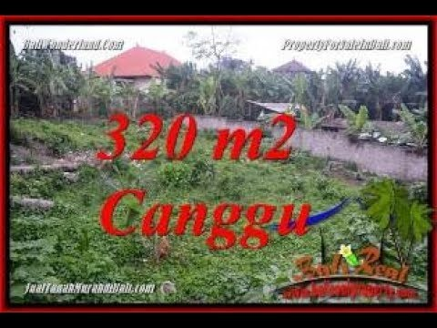 FOR SALE Exotic PROPERTY 320 m2 LAND IN CANGGU BALI TJCG231