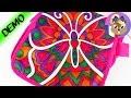 Bricoler un sac | Color me mine Set | On colorie le papillon sur la besace | Démo