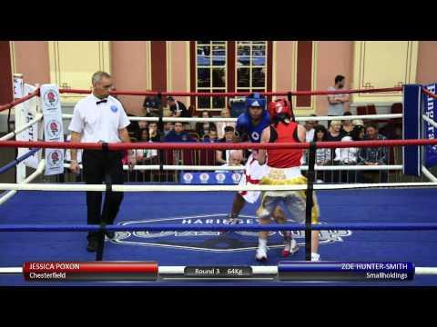 Haringey Box Cup Live Finals - Jessica Poxon v. Zoe Hunter-Smith