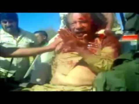 L'exécution de Kadhafi   ـ إعدام معمر القذافي (الفديو الكامل)ـ