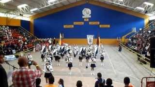 Banda Medalla Milagrosa de Chaparral Tolima   VII Festival de bandas musico marciales