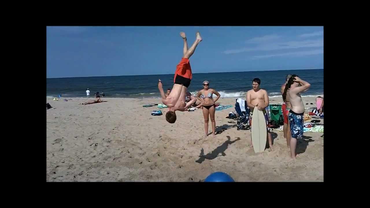Exercise Ball Beach Trampoline