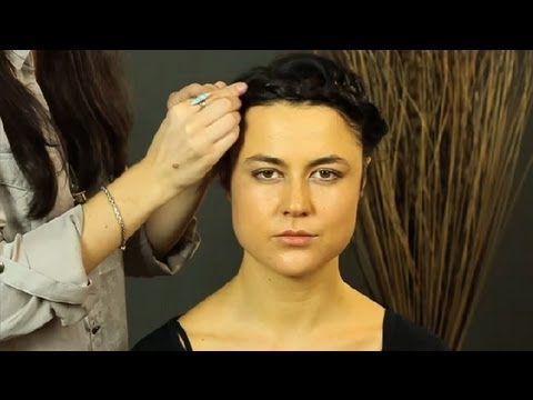 hair styles for medium to short hair simple crown braids for hair shoulder length 5569 | hqdefault