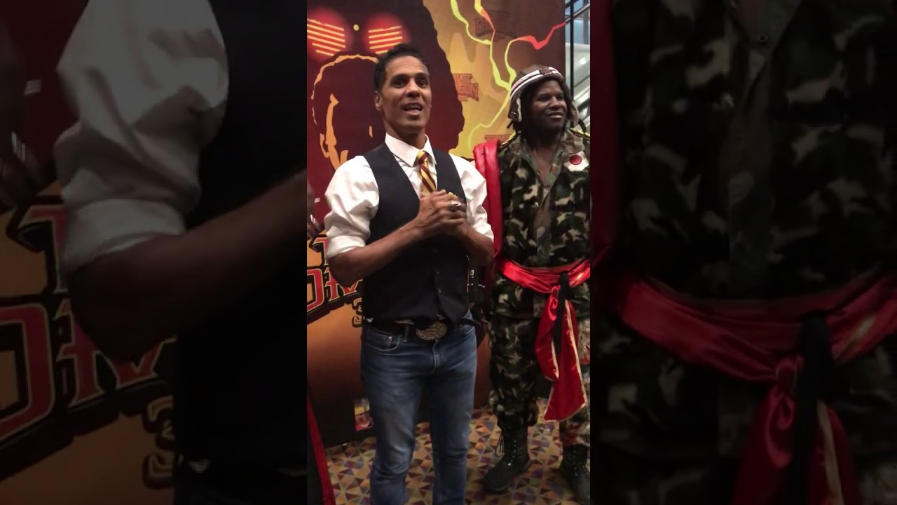 Download Taimak thanking fans for attending The Last Dragon's 35th Anniversary Celebration at 2019 UASE