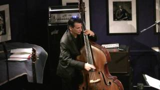 James Ross @ John Patitucci Trio - Bass Solo - Jazz at The Bistro (St. Louis) - Jross-tv