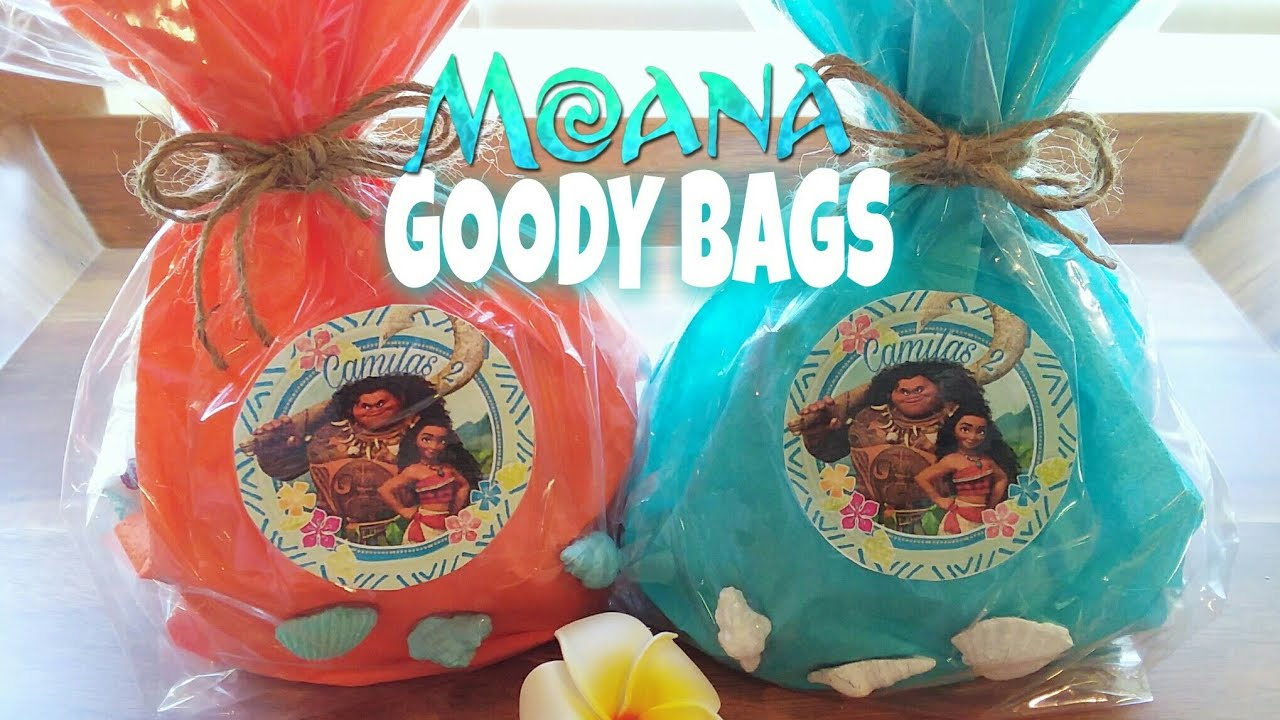 MOANA TREAT BAGS