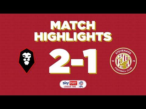 Salford Stevenage Goals And Highlights