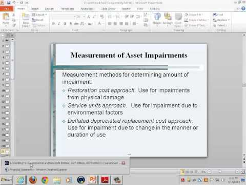 Government & Non-Profit Accounting: Accounting for General Capital Assets and Capital Projects