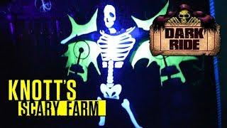 Dark Ride Maze Walkthrough Knott's Scary Farm 2017