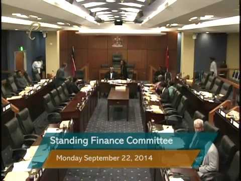 Standing Finance Committee - Office of the Prime Minister