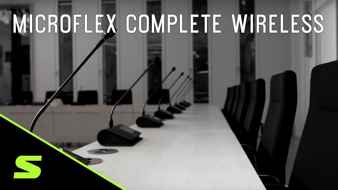 Microflex® Complete Wireless - Digital Conference System