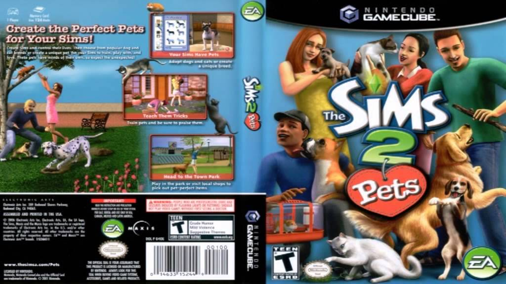 The Sims 2 Pets Ps2 Xbox Gc Soundtrack Loading Screen 2 Youtube