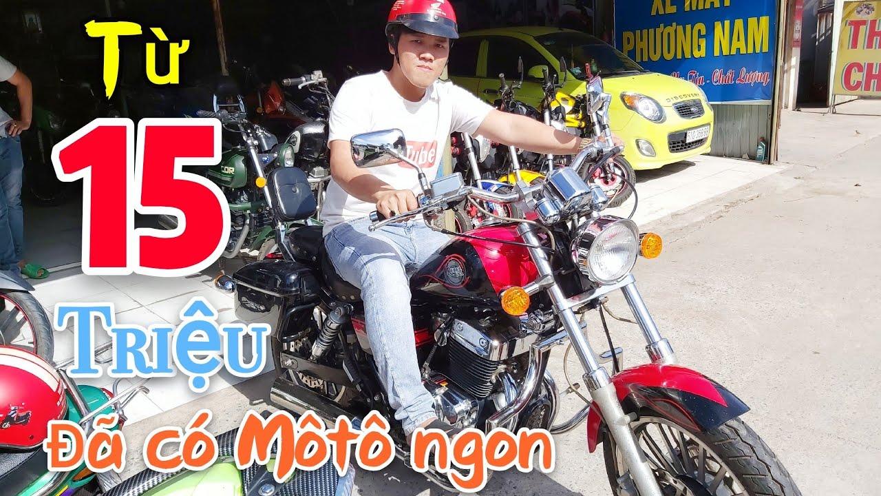 Quay lại cửa hàng Môtô xe máy Giá chỉ từ 15 triệu là đã có một con môtô chạy vivu | Ngố Nguyễn