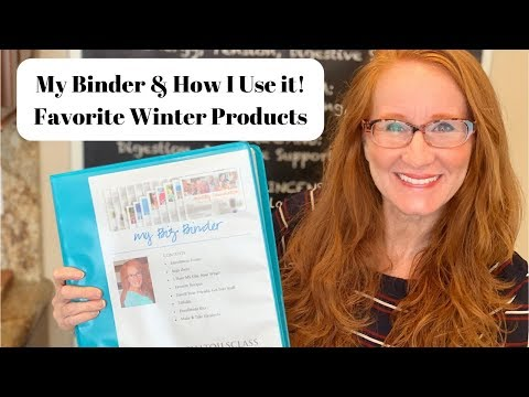 binder-organization-●-favorite-winter-products