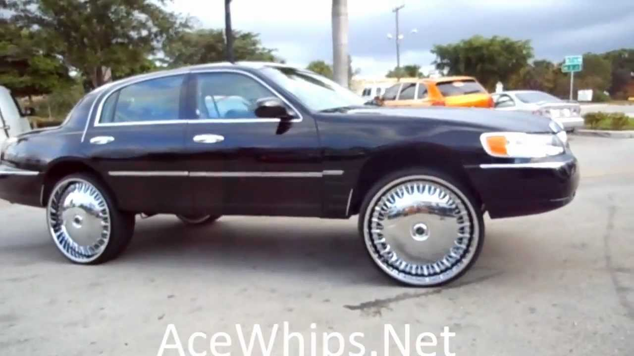 Acewhips Net C2c Customs Lincoln Towncar On 28 Dub Billionaire