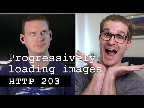 Progressively Loading Images - HTTP 203