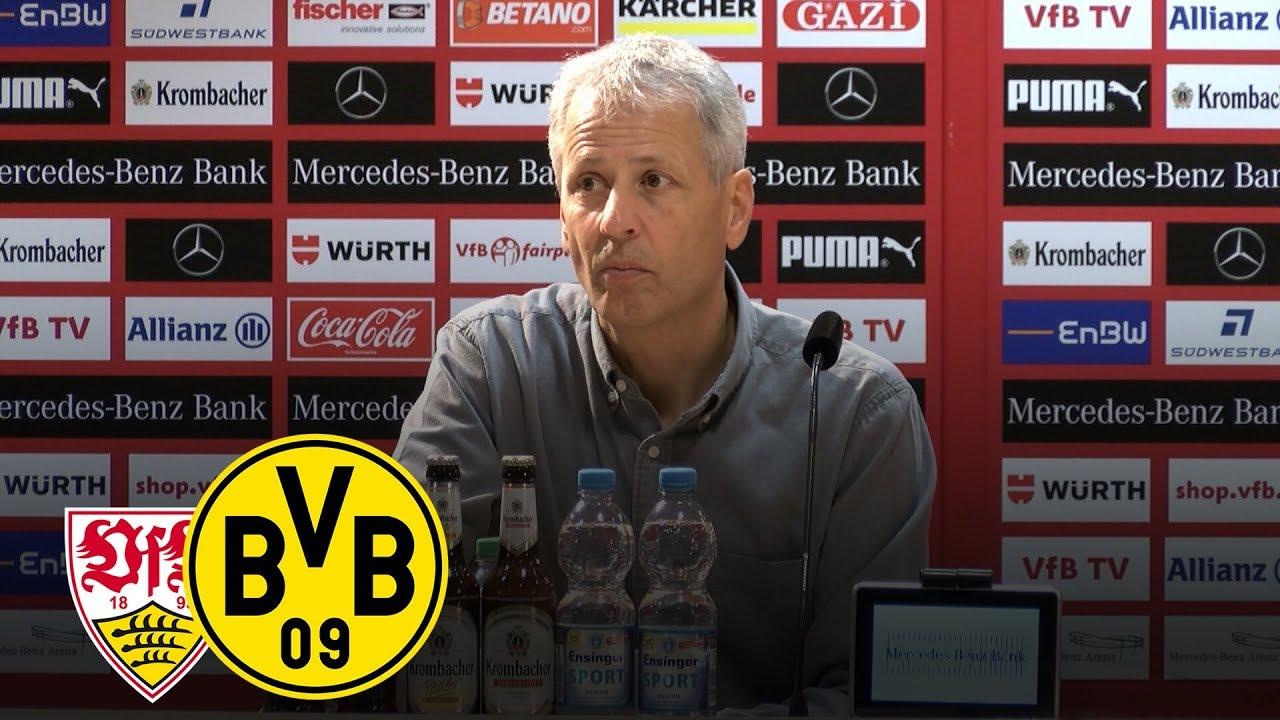 Tor-Feuerwerk in Stuttgart | PK mit Lucien Favre | VfB Stuttgart - BVB 0:4