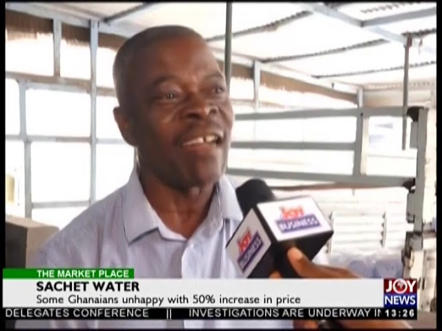 Sachet Water - The Market Place on JoyNews (19-11-18)