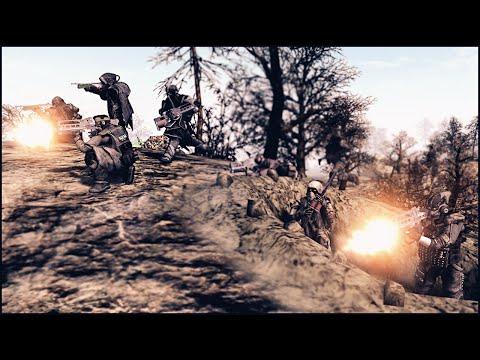 KILLZONE IN MEN OF WAR - Helghast at War Mod Gameplay |