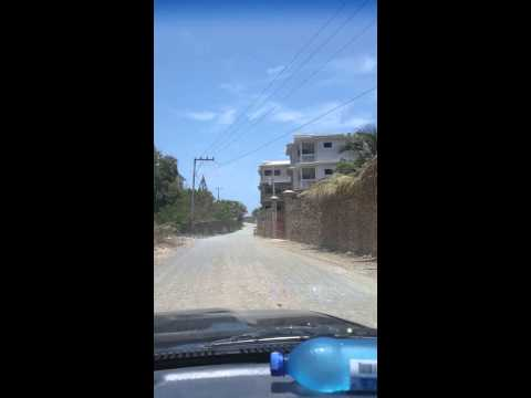 Driving from Cap-haitien to Labadee