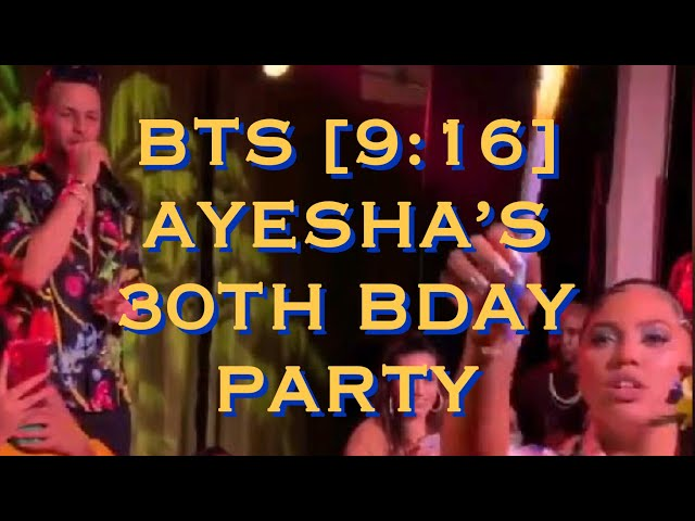 704b4a8b4903 Ayesha Curry Grinds Up On Hubby Steph Curry At Her Surprise 30th B Day Bash   VIDEOS