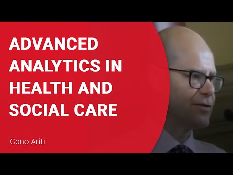 Advanced Analytics in health and social care