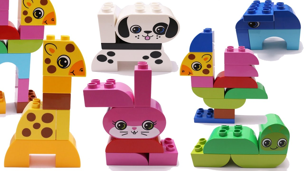 Building Blocks Toys for Children Lego Animals Creative ...
