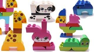 Building Blocks Toys for Children Lego Animals Creative Fun