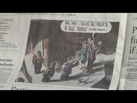 Albuquerque Journal's editorial cartoon creates controversy