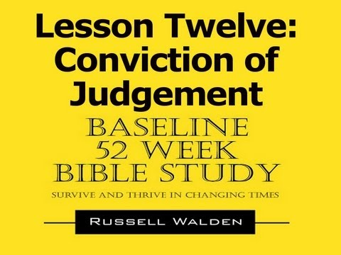 Baseline Course Lesson 012 The Prince of this World is Judged