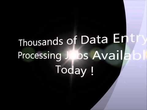 Legitimate online data entry jobs
