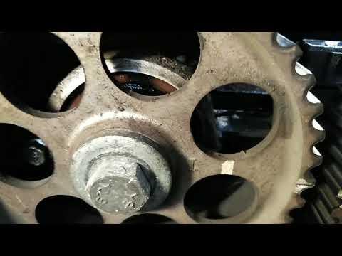 Chevrolet Cruze 1.6 замена сальников распредвалов и коленвала