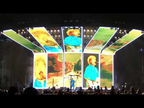 Part 1 of 3: Castle on the hill - Ed sheeran full Live concert Mumbai India 2017