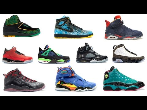 AIR JORDAN DOERNBECHER COLLECTION - THE HISTORY OF