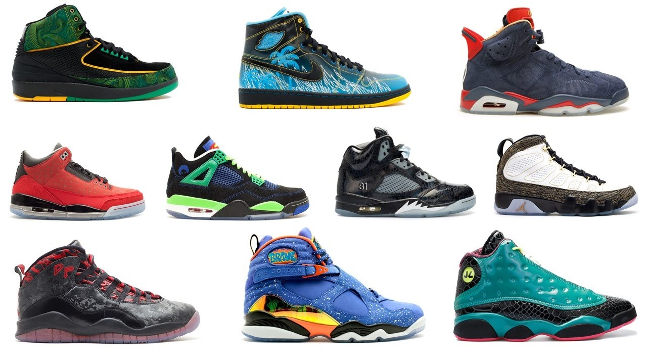 AIR JORDAN DOERNBECHER COLLECTION