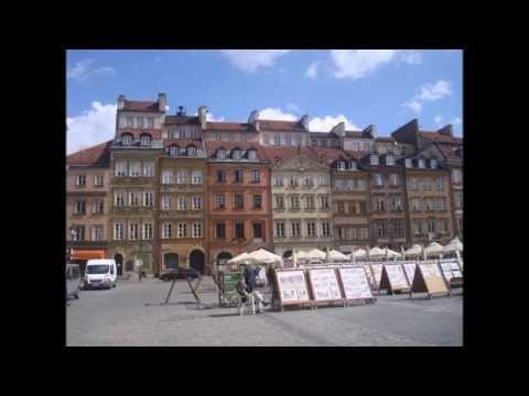Варшава.  Старый город.  Архитектура. Warsaw. Old city. Architecture.