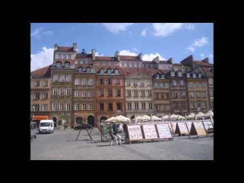 Варшава.  Старый город.  Архитектура. Warsaw. Old city. Architecture.