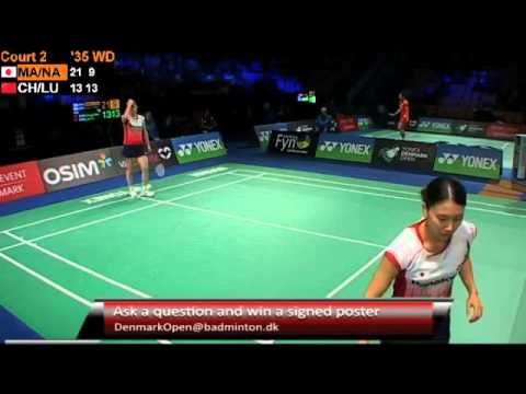 R16 - WD (Court 2) - S.Matsuo/M.Naito vs Cheng S./Luo Y. - 2012 Yonex Denmark Open
