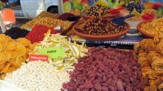 Dried Fruits, Szczecin, West Pomeranian, Poland, Europe