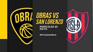 Victor Liz Post Obras Basket 94 - 99 San Lorenzo