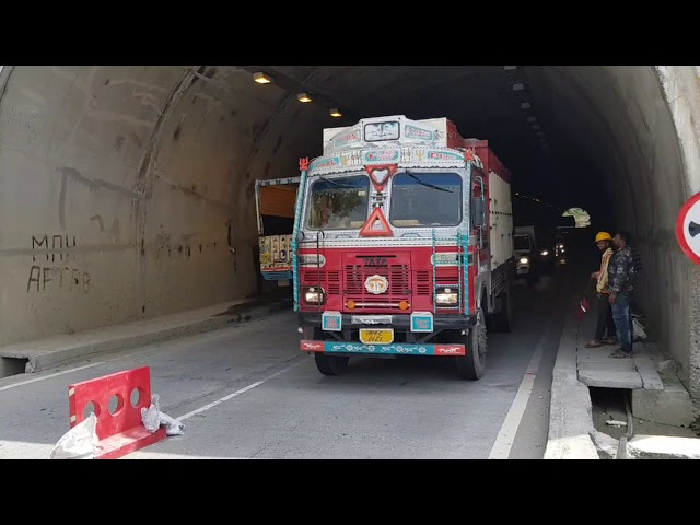 NHAI  tunnels develop cracks, then why pay toll at Ban Toll Plaza?